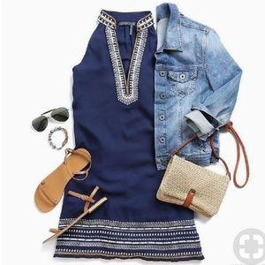THML Chana Embroidered Dress XSP